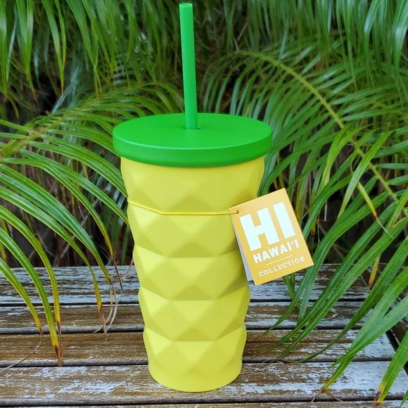 Starbucks Hawaii Pineapple SS Cold Cup NWT